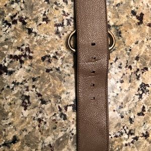 Leather belt from Banana Republic